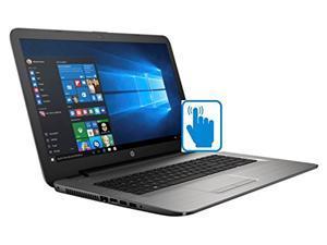 HP 17z Touchscreen 17.3'' High Performance Laptop PC (AMD A8 Quad Core, 17.3 inch HD Touchscreen, 16GB RAM, 512GB SSD, DVD Burner, Bluetooth, Win10)-Turbo Silver