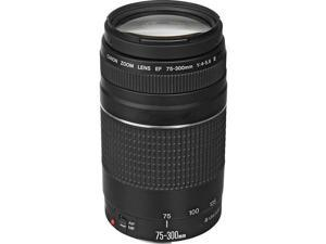 Canon EF 75-300mm f/4-5.6 III Telephoto Zoom Lens for Canon SLR Cameras 9-foot closest focusing distance