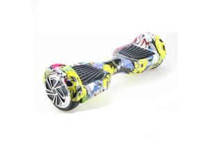 Mini Smart Electric Scooter 2 Wheels Unicycle Self balancing Balance Hover board max speed in 15km~20km  CoolStree color