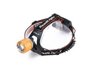 Vander 4000LM T6 LED Headlamp Lamp Ligh 3-Mode Zoom Rechargeable Headlight