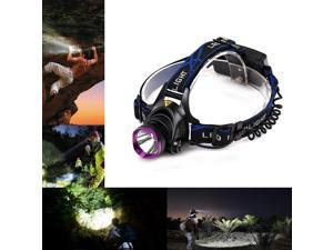 Vander 5000LM LED Headlight Vander XML T6 LED 18650 Headlamp flashlight head light lamp