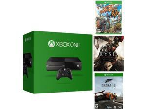 Microsoft Xbox One 500GB Gaming Console - 3 Game Bundle
