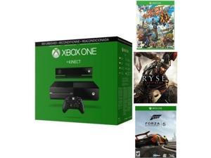 Microsoft Xbox One 500GB Gaming Console and Kinect BUNDLE with Sunset Overdrive, Ryse: Son of Rome and Forza 5 Digital Download