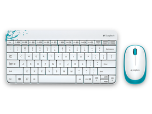 Logitech Media Combo MK240 Mouse and Keyboard(White)