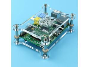 Raspberry Pi Acrylic Shell Case Box Compatible with 2.0 Type B expansion board