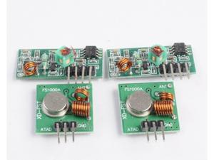 2 sets / 2 pcs 433Mhz RF transmitter and receiver kit for Arduino ARM Raspberry pi MCU WL