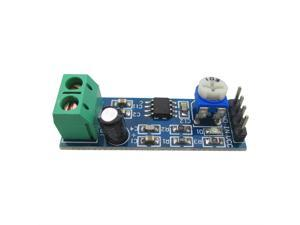 LM386 Audio Amplifier Module 10K Adjustable Resistance for Raspberry Pi Arduino 5V-12V 200 multiplier benefits circuit design