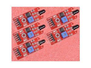 5pcs Flame Sensor IR Infrared Flame Detection Sensor Module for Arduino