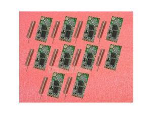 10pcs HC-11 433Mhz Wireless to TTL CC1101 Module Replace Bluetooth + tracking #