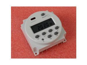 DC 12V Mini LCD Digital Programmable Control Power Timer Switch