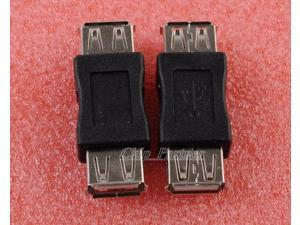 2pcs USB A Female to USB A Female Coupler Adapter Female to Female