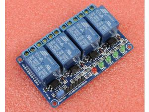 24V 4-Channel Relay Module with Optocoupler High Level Triger for Arduino