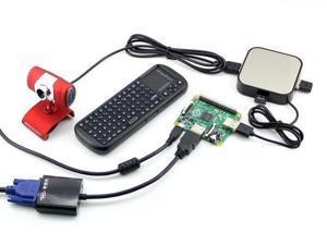 Raspberry Pi Model A+ Pack C with Camera USB WiFi Mini Wireless Keyboard USB Hub