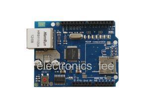Ethernet Shield W5100 Module Micro Board for Arduino UNO R3 ATMega 328 1280 MEGA 2560 Microcontroller AVR SD Sard Slot Expansion