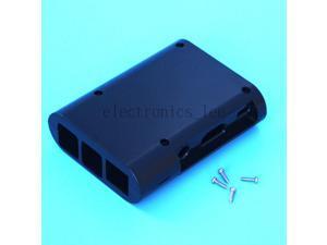 Black ABS Plastic Case Box Shell Cover for for Raspberry pi B+ / 2 Model B Board