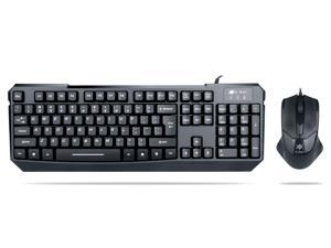 K-RAY KM8000 High Quality Wired Gaming Keyboard with Mouse Control For DESKTOP PC Laptop Wired Keyboard Mouse Combos
