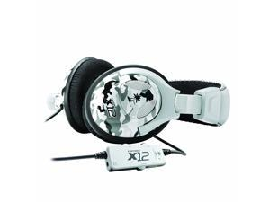 Turtle Beach - Ear Force X12 Amplified Stereo Gaming Headset - Xbox 360 - Arctic Camo