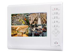 4 Channel H.264 NVR - 7 Inch Touchscreen Built-in Mic 2TB HDD Support ONVIF 2.0 Bi-directional Intercom
