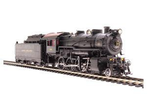 Broadway Limited HO-Scale H10s 2-8-0 Steam Loco Long Island RR #110 DCC/Sound