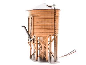 Broadway Limited HO Scale Operating Water Tower with Sound - Painted Brown/Undec