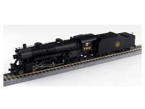 Broadway Limited HO-Scale 4-6-2 Light Pacific Steam Loco Canadian National #5302