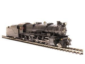 Broadway Limited HO Scale Class L1s 2-8-2 Pennsylvania Style Undec. DCC/Sound
