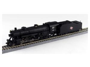 Broadway Limited HO-Scale 4-6-2 Light Pacific Steam Loco Milwaukee Road/MILW 155
