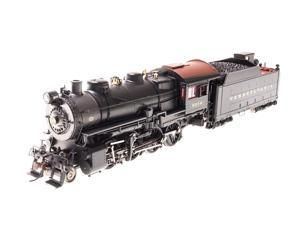 Broadway Limited HO-Scale H10s 2-8-0 Steam Loco Painted/Unlettered DCC/Sound