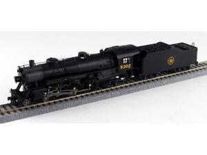 Broadway Limited HO-Scale 4-6-2 Light Pacific Steam Loco Canadian National #5296
