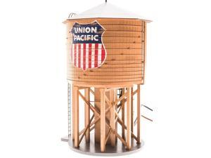 Broadway Limited HO Scale Operating Water Tower with Sound - Union Pacific/UP