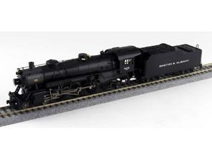 Broadway Limited HO-Scale 4-6-2 Light Pacific Steam Loco Boston Albany/B&A #501