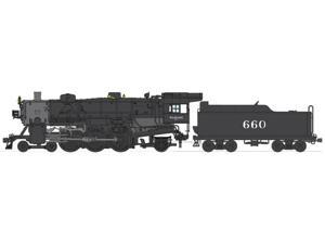 Broadway Limited HO-Scale 4-6-2 Light Pacific Steam Loco Wabash/WAB #660