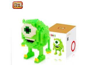 Mike from Monsters Inc - LOZ Diamond Building Blocks