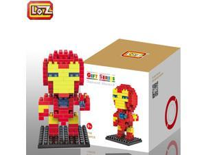 LOZ Super Hero Diamond Mini Building Micro Blocks - Iron Man Style - 130 PCS