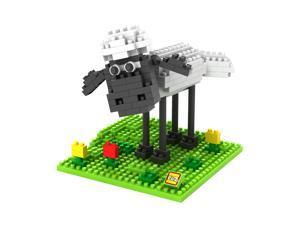 LOZ 9476 3D Diamond Shaun The Sheep 190Pcs Building Brick Blocks DIY Figure Toy
