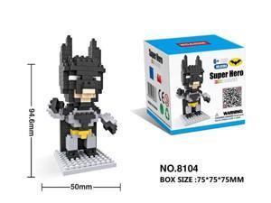 HSANHE 8104 Super Hero Avenger Batman 195Pcs Building Block DIY Brick Toy gift
