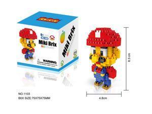 COGO 1103 Super Mario 280Pcs Building Blocks DIY 3D Brick Toy