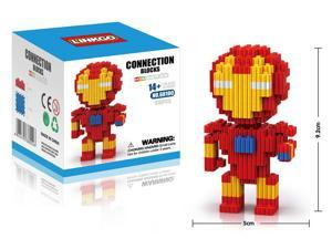 LinkGo 68100 Super Hero Ironman 416 PCS Building Brick Block 3D DIY Figure Toy