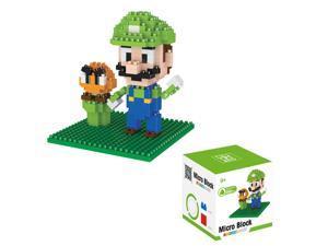 BOYU 8131A Super Mario Lugi 260Pcs Building Blocks DIY 3D Brick Toy