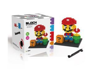ZMS 3321 Super Mario Flower 236Pcs Building Blocks DIY 3D Brick Toy