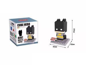 Hsanhe 8007 Super Hero Batman 113Pcs Building Blocks DIY 3D Brick Toy