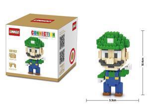 LinkGo 68162 Super Mario 309 Pcs Building Bricks Blocks 3D DIY Figures Toys