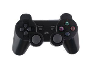 Black OEM DualShock Bluetooth Wireless SixAxis Controller For Sony PS3 New