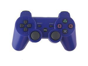 Blue OEM DualShock Bluetooth Wireless SixAxis Controller For Sony PS3 New