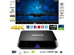 M8S OTT IPTV Internet TV Box 4K Ultra HD Android 4.4 Quad Core 2.0GHz RAM:2GB/ROM:8GB Network Media Player