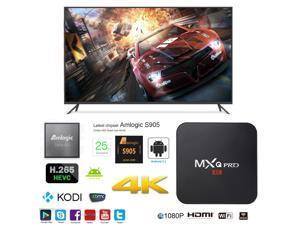 MXQ Pro OTT IPTV Internet TV Box 4K Ultra HD Android 5.1 Quad Core 2.0GHz RAM:1GB/ROM:8GB Network Media Player
