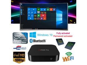 Mini PC Intel Atom X5-Z8300 64-bit Quad Core 1.44GHz RAM:2GB/ROM:32GB Windows 10 OS is Fully activated/Permanent activated