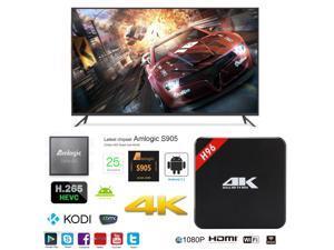 H96 OTT IPTV Internet TV Box 4K Ultra HD Android 5.1 Quad Core 2.0GHz RAM:1GB/ROM:8GB Network Media Player