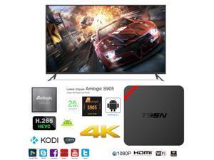 T95N-Mini-MX-Plus OTT IPTV Internet TV Box 4K Ultra HD Android 5.1 Quad Core 2.0GHz RAM:1GB/ROM:8GB Network Media Player