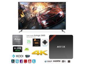 A95X NEXBOX OTT IPTV Internet TV Box 4K Ultra HD Android 6.0 Quad Core 2.0GHz RAM:1GB/ROM:8GB Network Media Player